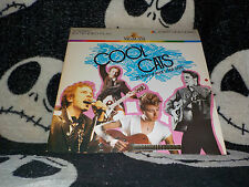 Cool Cats 25 Years of Rock 'n' Roll Style Laserdisc LD Elvis Free Ship $30