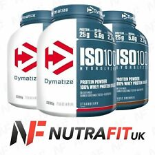 DYMATIZE ISO 100 hydrolyzed whey protein isolate powder WPI