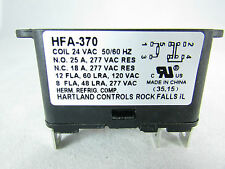 FAN RELAY HEAVY DUTY 90-370/ COIL 24VAC  50/60Hz  / UL CERTIFIED
