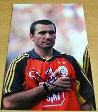 Gheorghe Hagi Signed Autograph 12X8 Photo Galatasaray Football Memorabilia & COA