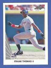 Frank Thomas, Chicago White Sox 1990 Leaf Rookie Card #300 NRMINT-MINT
