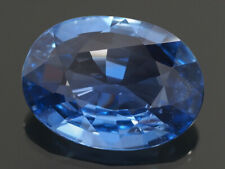 NATURAL MINE - OVAL MEDIUM BLUE CEYLON SAPPHIRE 0.82 CT.