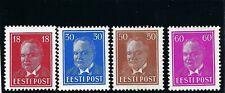 B&D: 1936-40 Estonia Scott 127, 131-133 MLH