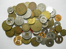 Lot of 50 different transit tokens.