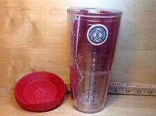 """24 ounce Tervis tumbler """"Budweiser"""" king of beers with lid"""