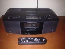 Denon S-32 Wireless Network Clock Internet Radio Wifi Ipod Great Sound