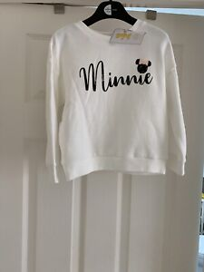 Girls Disney Minnie Mouse Jumper BNWT Age 5