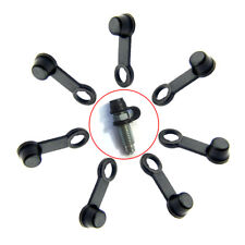 8Pcs Brake Caliper Bleed Nipple Screw Dust Cap Covers Rubber for Car Motorcycle