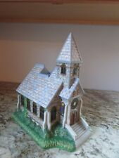Partylite Olde World Village - #2 The Church Tealight House-Decorative or Train