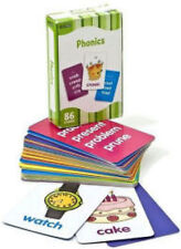 Phonics Flash Cards by Flashkids 86 flash cards, box set NEW
