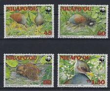 v1930 WWF 1992/ Tonga Niuafoou/ Vögel  MiNr 233/36 **
