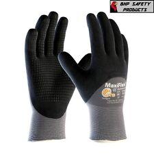 Pip 34 845 Maxiflex Dotted Palms 34 Dip Nitrile Coated Micro Foam Work Gloves