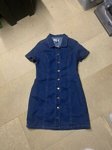 H&M Denim Dress Size 14 Brand New With Tags