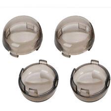 4Pack Turn Signal Light Smoke Lens Cover For Harley Davidson Sportster
