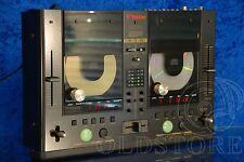 ►VESTAX CDX 12◄CONSOLLE LETTORI CD PLAYER CON MIXER VINTAGE DJ PITCH CONTROL