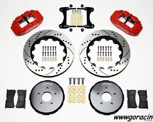"Wilwood Superlite 6R Front Big Brake Kit,Fits 2009-2013 Nissan 370Z,14""Rotors"
