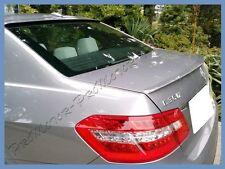 Pick Color 10-15 M BENZ W212 Sedan E300 E350 E550 A Type Trunk Spoiler Lips Wing