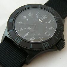 GLYCINE COMBAT SUB SPECIALS STEALTH 3863-99AT-TB9 CINTURINO NATO NERO