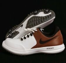 san francisco 8117e adcd8 Size 8 MEN S Nike Air Zoom Accurate Golf Shoes Summit White 909723 102 brown