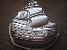 PIRATE SHIP Aluminum Cake or Jello Tin Baking Pan Wilton #2105-1021 NEW