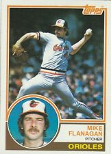 FREE SHIPPING-MINT-1983 (ORIOLES) Topps #445 Mike Flanagan