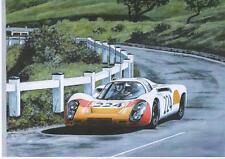 Vic Elford, Targa Florio 1968 art print