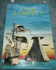 Time Bandits original  vintage poster - approx 69 x 101 , 1981
