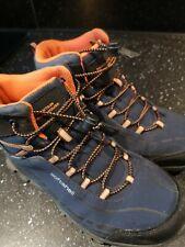 Mountain Warehouse Boys Girls IsoDry Waterproof Walking Boots Size 3 Used