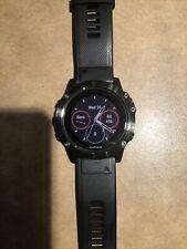 Garmin 010-01733-04 Fenix 5X Sapphire Edition 51mm Multisport Gps Watch - Black