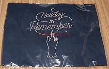 GIRLS' GENERATION 10th Anniversary Holiday to Remember GOODS NAVY ECO BAG NEW