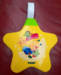 TOMY STARLIGHT STAR DREAMSHOW MUSICAL BABY NIGHT LIGHT PROJECTOR COT MOBILE TOY