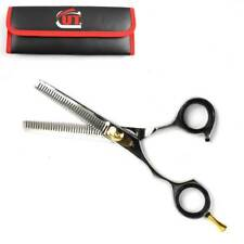 "CUT 2107LH 6.25"" PRO DOUBLE SIDED HAIR THINNING SCISSORS Left handed Sheath Case"