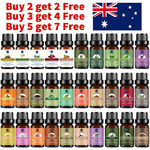Essential Oil 100% Pure & Natural Aromatherapy Diffuser Fragrance Oils 10/30ml
