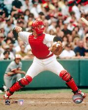 CARLTON FISK Boston Red Sox Catcher CANNON c.1978 Premium POSTER Print