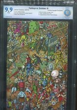 Fanboys vs Zombies #1 - Farinas Virgin Wraparound Cover - CBCS 9.9