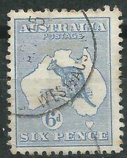 Australia scott# 8 usado Canguro 1913