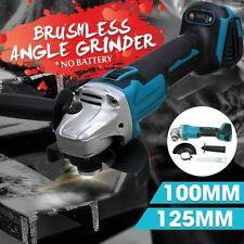 100mm Cordless Angle Grinder Host Polishing Cutting Machine with Digital Display