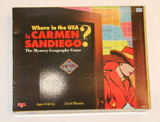 Where In The USA Is Carmen Sandiego Mystery Geography Board Game 1993