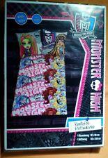Monster High Bettwäsche 135x200 80x80 Renforcé Bettwäsche