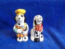 Dogzilla Chef Dogs Salt and Pepper Black and White Red bandana