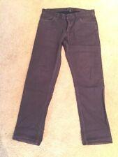 Theory Dark Brown Men's Haydin Jeans Size 31