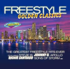 CD Freestyle golden Classics Von Various Artists