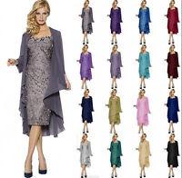 New Women Formal Evening Dress Mother of the Bride/Groom Dress Size 8-20