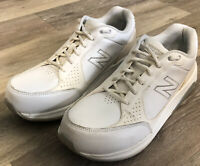 New Balance Walking Shoes 928 White Leather Athletic WW928WT womens Size 9
