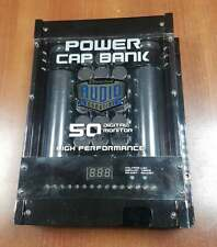 Directed Audio 50 Farad Power Cap Bank For Car Audio Systems