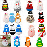 Infant Baby Boys Girls Animal Costume Bodysuit Outfit Romper Clothes Set 3-12M
