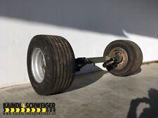 BPW Anhängerachse Bundeswehr Achse für Anhänger mit Reifen *TOP*