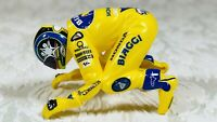 Scalextric MotoGP Motorbike Figure Only Max Biaggi Yellow Honda (No Bike)