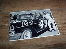 Photo / Photograph  Bob Welborn CHEVROLET 1957 NASCAR //