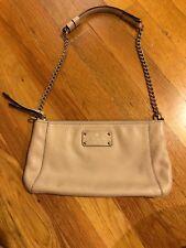Kate Spade Beige Leather Shoulder Bag